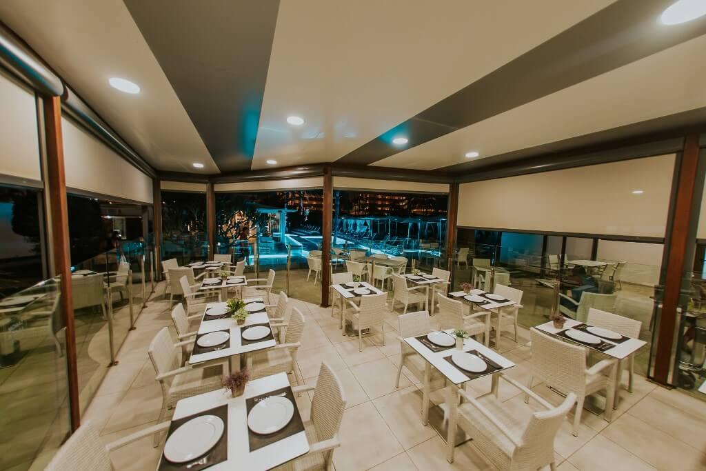 Restaurante Le Jardin - Sanom Beach Resort
